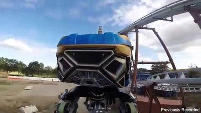 Guardians of the Galaxy Roller Coaster Train Test Walt Disney World NEW 2022
