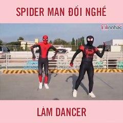 Spider Man đổi nghề làm dancer