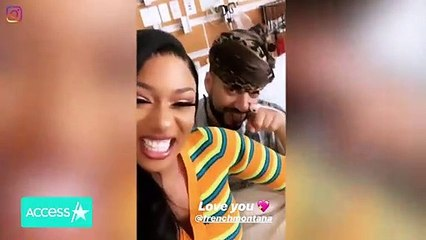 Megan Thee Stallion Shares Laughs With French Montana While Visiting Him In The Hospital ICU