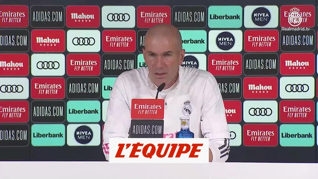 Zinédine Zidane : «Raphaël Varane est intransférable » - Foot - ESP - Real