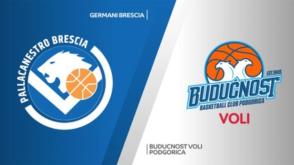 7Days EuroCup Highlights Regular Season, Round 6: Brescia 66-75 Buducnost