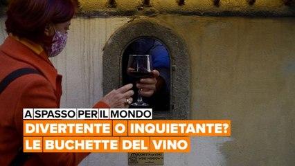 A spasso per il mondo: Le buchette del vino