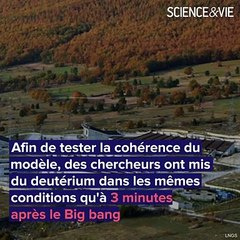 Big bang : on a recréé les premières minutes de la naissance de l'Univers