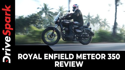Royal Enfield Meteor 350 Review   Meteor 350 Specs, Design, Performance & Features