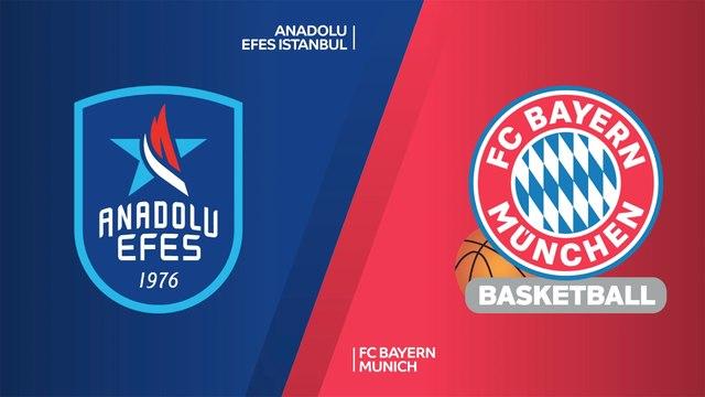 Anadolu Efes Istanbul - FC Bayern Munich Highlights | Turkish Airlines EuroLeague, RS Round 9