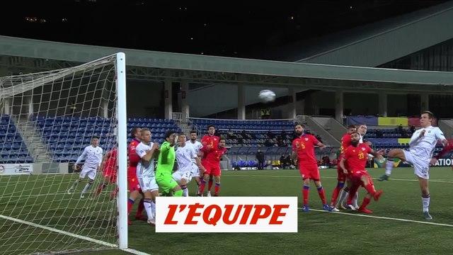 Les buts d'Andorre-Lettonie - Foot - Ligue des nations