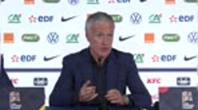 France - Deschamps tire un bilan positif de cette trêve internationale