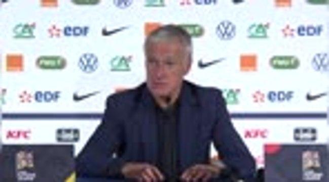 """France - Deschamps : """"Pogba est un joueur de top niveau"""""""