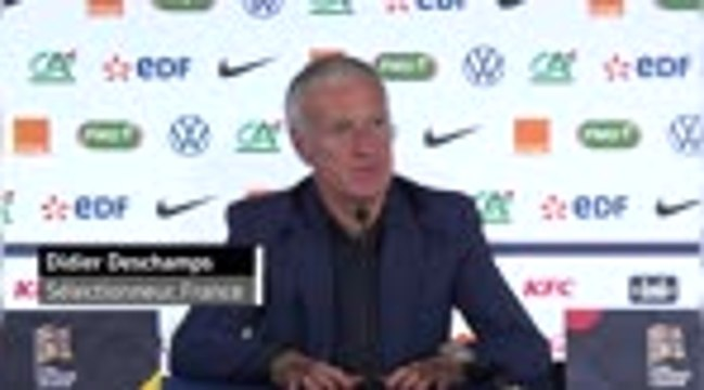 """France - Deschamps :  """"Un bon retour pour Mbappé"""""""