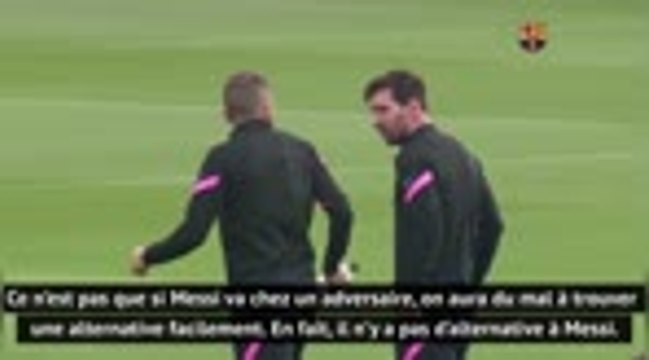 """Barcelone - Font : """"Xavi en tant que manager est celui qui peut convaincre Messi de rester"""""""