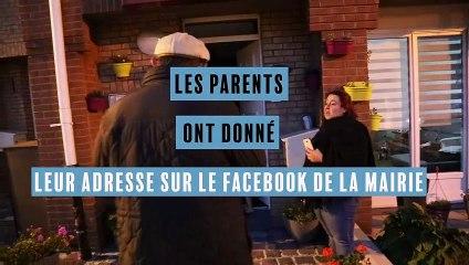 Saint Martin rend visite aux enfants de Loon-Plage à domicile