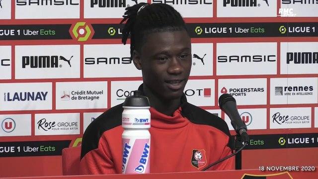 """Rennes : """"Je suis un pilote"""", Camavinga tout sourire après l'examen du permis de conduire"""
