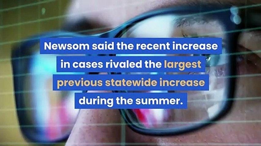 State hits 'emergency brake' as coronavirus cases spike Newsom says;