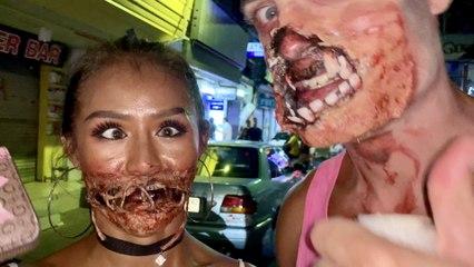 Halloween 2020  in Thailand & Pattaya Bikini Beach Run