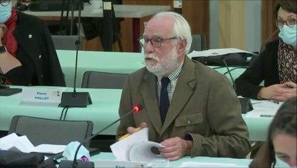 Paul ROBINAT. Projet alimentaire territorial départemental. Session du 17 novembre 2020
