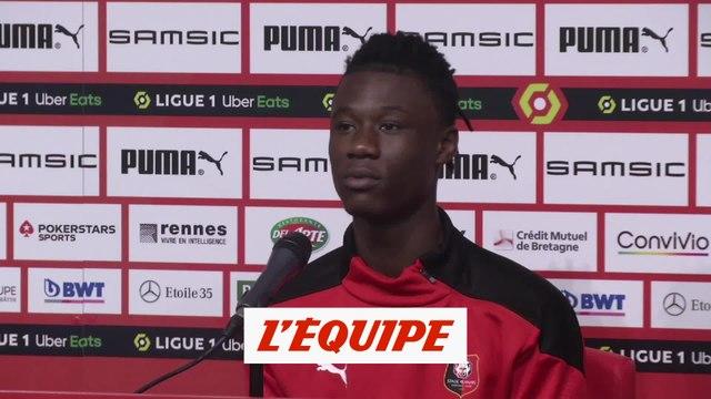 Camavinga : « Ca m'a permis de souffler » - Foot - L1 - Rennes