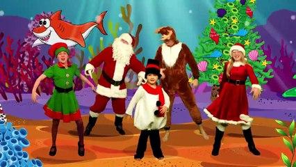 Christmas Baby Shark - Santa Songs and Nursery Rhymes - The Mik Maks