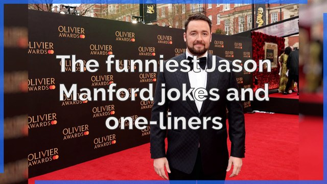 Jason Manford - The funniest Jason Manford jokes and one-liners