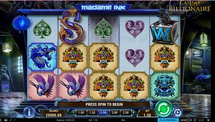 519 - INDIA - MADAME INK SLOT GAME REVIEW & TEST GAMEPLAY