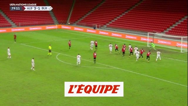 Les buts de Albanie-Biélorussie - Foot - Ligue des nations