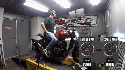 2019 Honda CB1000R Dyno
