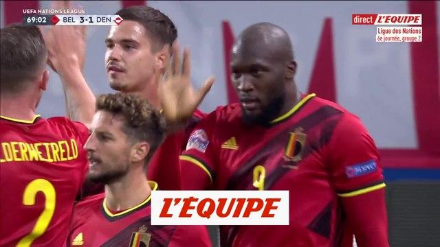 Les buts de Belgique - Danemark - Foot - Ligue des nations