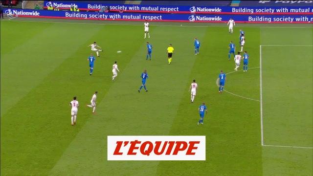 Les buts d'Angleterre - Islande - Foot - Ligue des nations