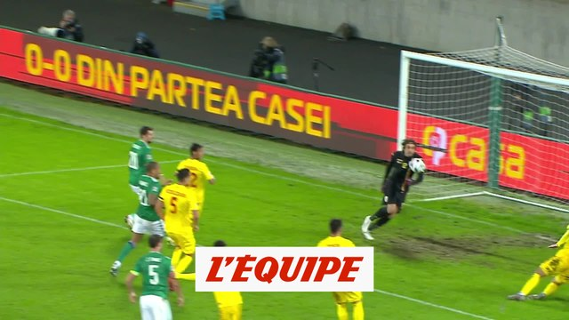 Les buts de Irlande du Nord - Roumanie - Foot - Ligue des nations