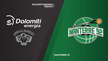 7Days EuroCup Highlights Regular Season, Round 8: Trento 102-104 Nanterre