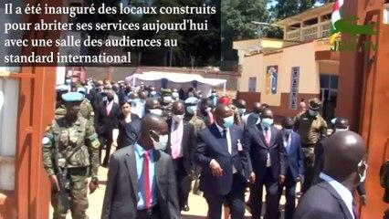 INAUGURATION DE LA COUR PENALE SPECIALE EN CENTRAFRIQUE
