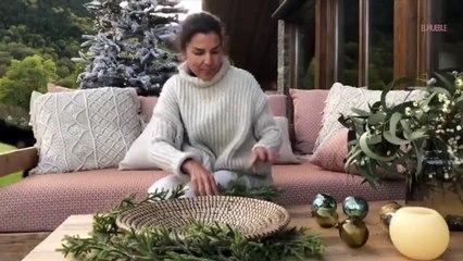 Cómo decorar un centro de mesa navideño, por Olga Gil-Vernet