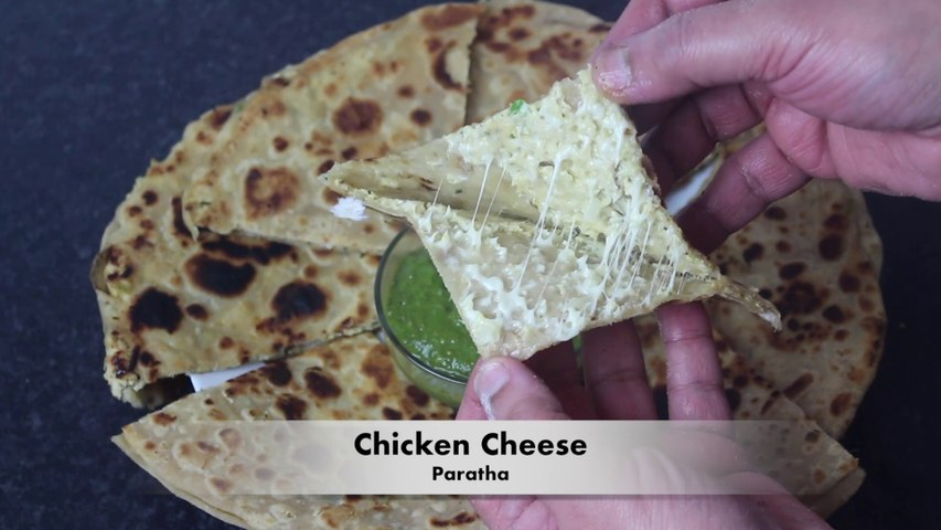 Chicken Paratha By Cook With Faiza