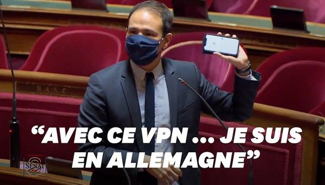 """Au Sénat, Cédric O démontre """"en deux secondes"""" l'absurdité de l'interdiction de l'anonymat en ligne"""