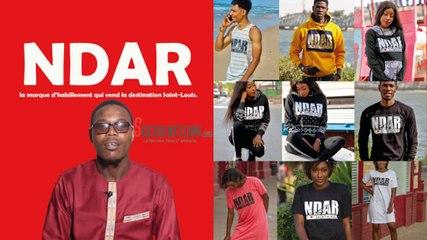 « NDAR », la marque d'habillement qui vend la destination  Saint-Louis.