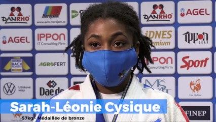 Championnats d'Europe seniors 2020 – Sarah-Léonie Cysique : « Toute médaille est bonne à prendre »