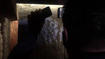 Túnel escavado para roubar milhões