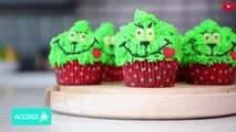 Kylie Jenner & Stormi Make Grinch Cupcakes