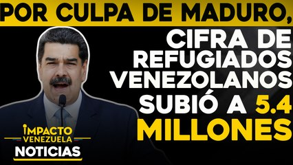 Cifra de refugiados venezolanos subió a 5,4 millones    NOTICIAS VENEZUELA HOY noviembre 20 2020