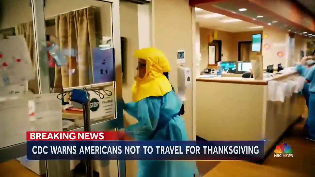 CDC Warns Against Traveling For Thanksgiving