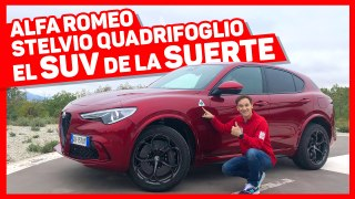 VÍDEO: Prueba Alfa Romeo Stelvio Quadrifoglio