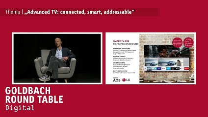 Goldbach Round Table | ADVANCED TV: CONNECTED, SMART, ADDRESSABLE | 19.11.2020