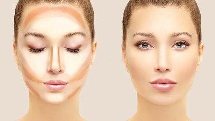 بالفيديو، طريقة عمل كونتور مثالي لكل شكل وجه