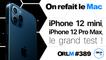 iPhone 12 mini, iPhone 12 Pro Max : le grand test ! | ORLM-389