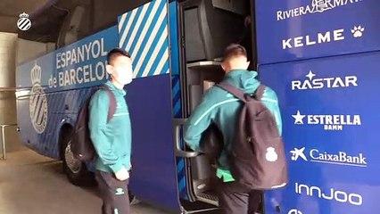 El equipo ya se encuentra concentrado para el partido ante el Girona (20/11/20)