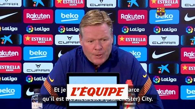 Ronald Koeman : « Pep Guardiola est un exemple pour tous les entraîneurs » - Foot - ESP - Barça