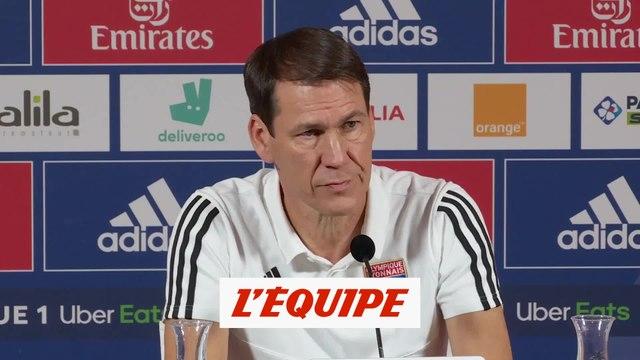 Garcia : «Aouar n'a pas 90 minutes dans les jambes» - Foot - L1 - OL
