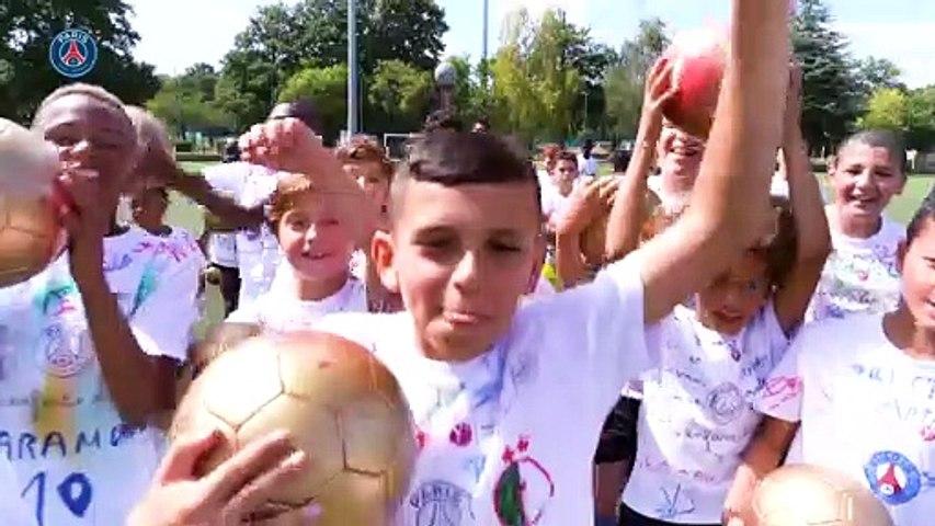 Le PSG s'associe à la journée internationale des droits de l'enfant