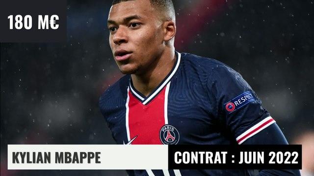 Top 10 : les joueurs les mieux côtés au Paris Saint-Germain