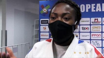 Championnats d'Europe seniors 2020 – Clarisse Agbegnenou : « Je peux repartir sereine »