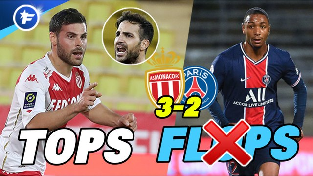 Les tops et flops de Monaco-PSG